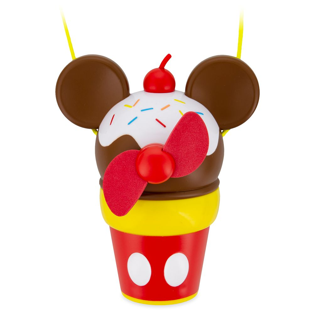 Mickey Mouse Ice Cream Cone Cooling Fan
