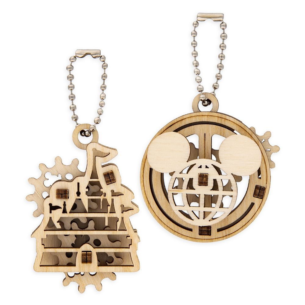 Disney Parks Wooden Puzzle Keychain Set by UGears