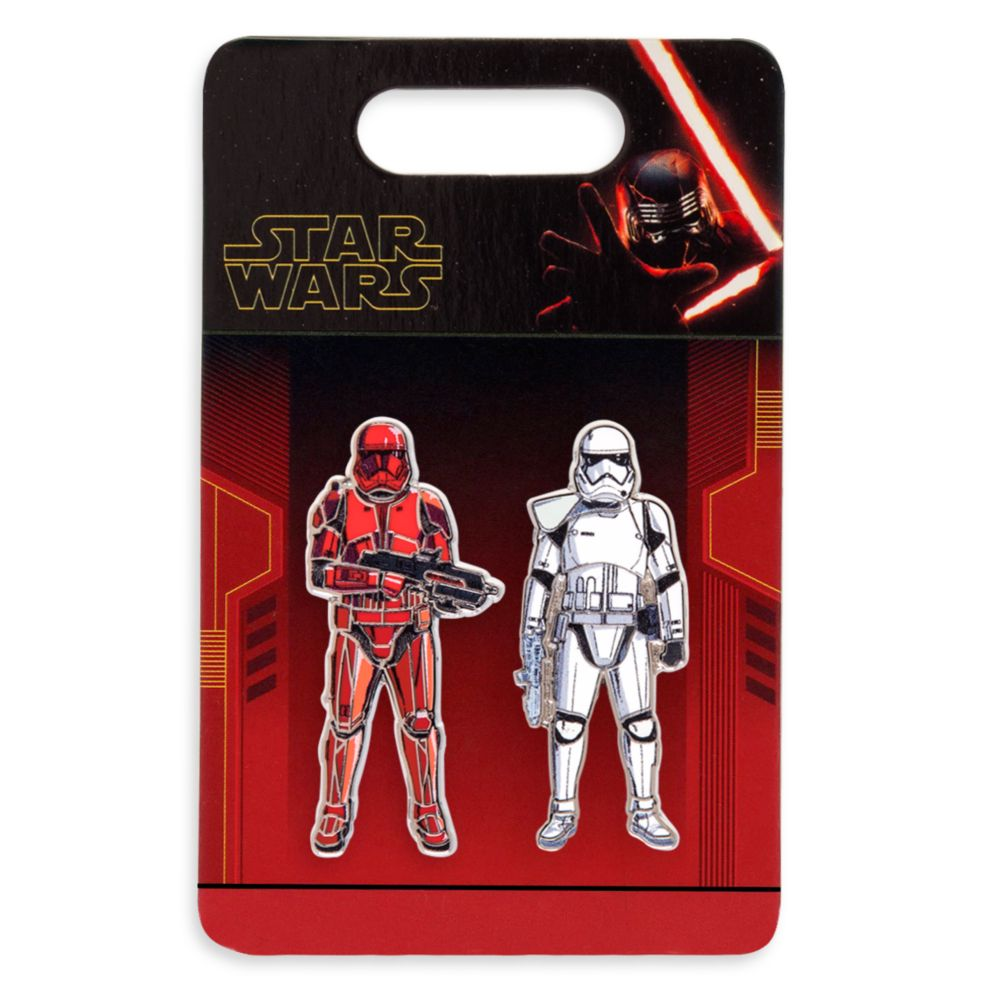 Stormtrooper and Sith Trooper Pin Set – Star Wars: The Rise of Skywalker