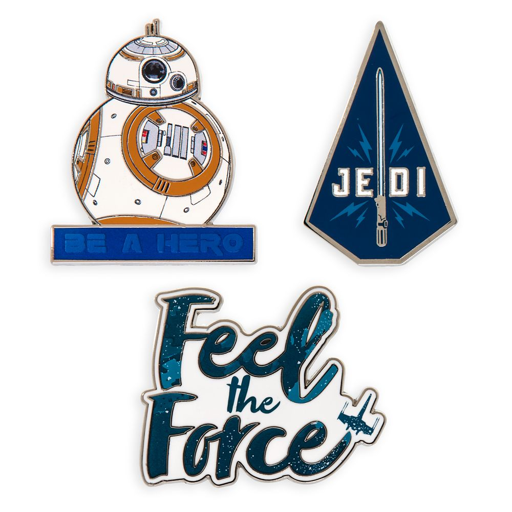 Star Wars: The Rise of Skywalker Quote Pin Set