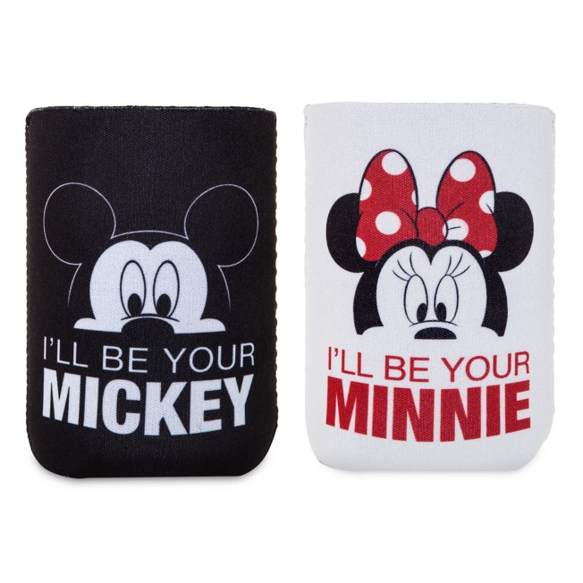 Mickey and Minnie Mouse Beverage Holder Set