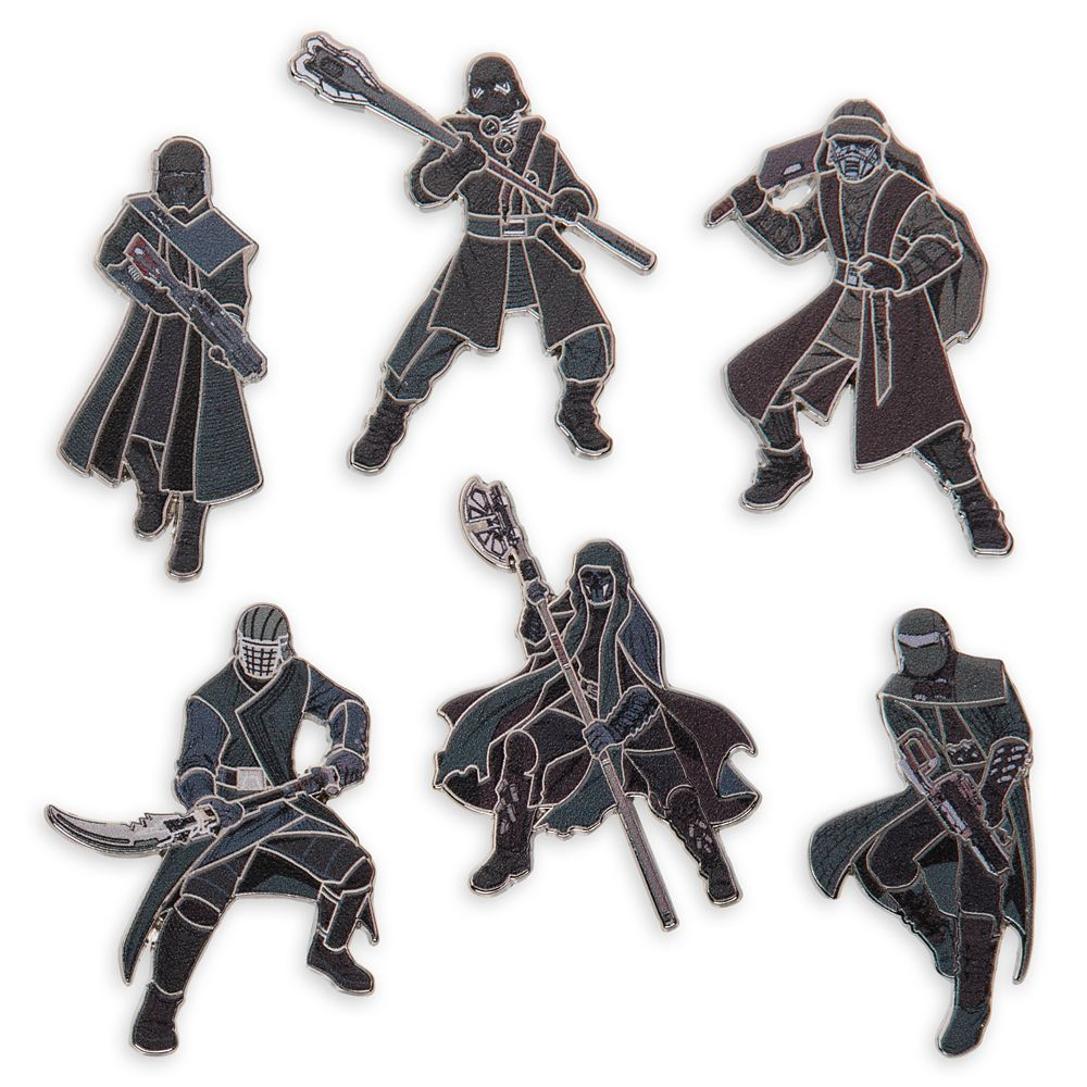 Knights of Ren Pin Set – Star Wars: The Rise of Skywalker – Limited Release
