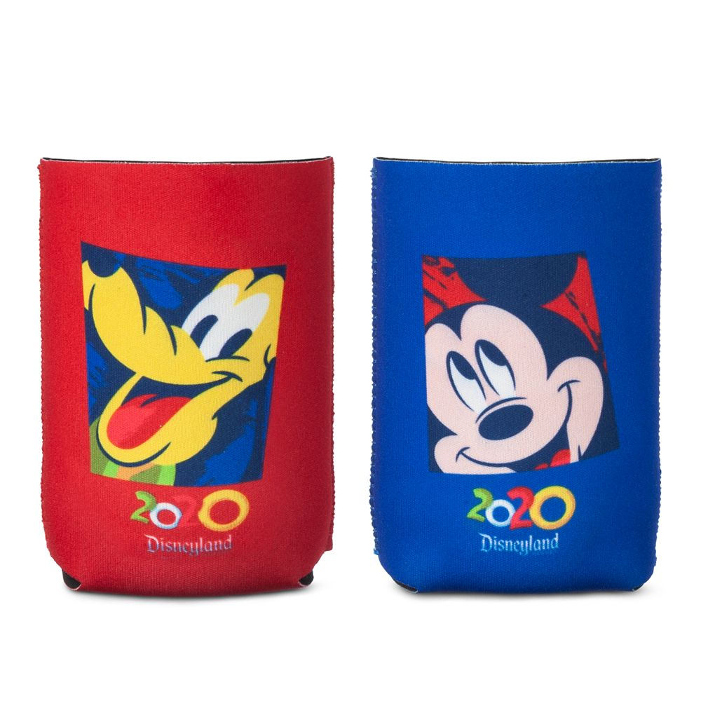 Mickey Mouse and Pluto Beverage Holder Set – Disneyland 2020