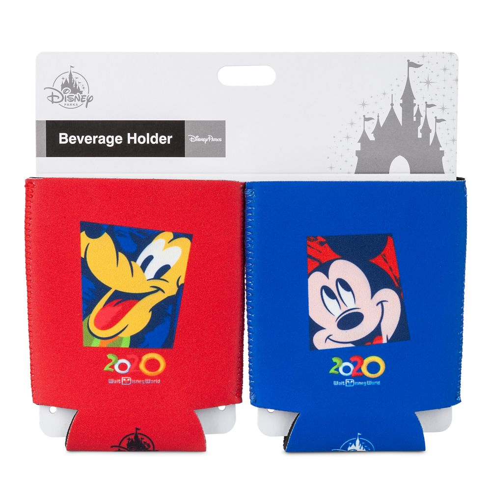 Mickey Mouse and Pluto Beverage Holder Set – Walt Disney World 2020