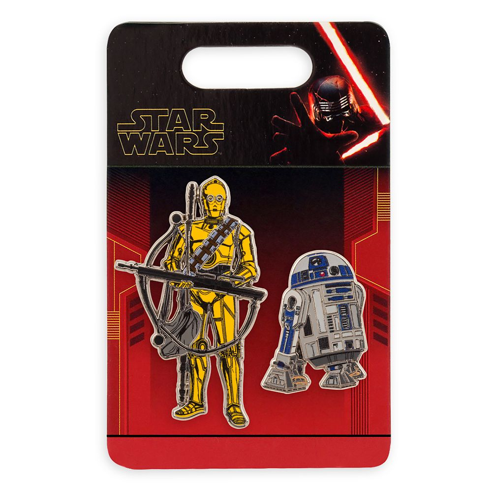 R2-D2 and C-3PO Pin Set – Star Wars: The Rise of Skywalker