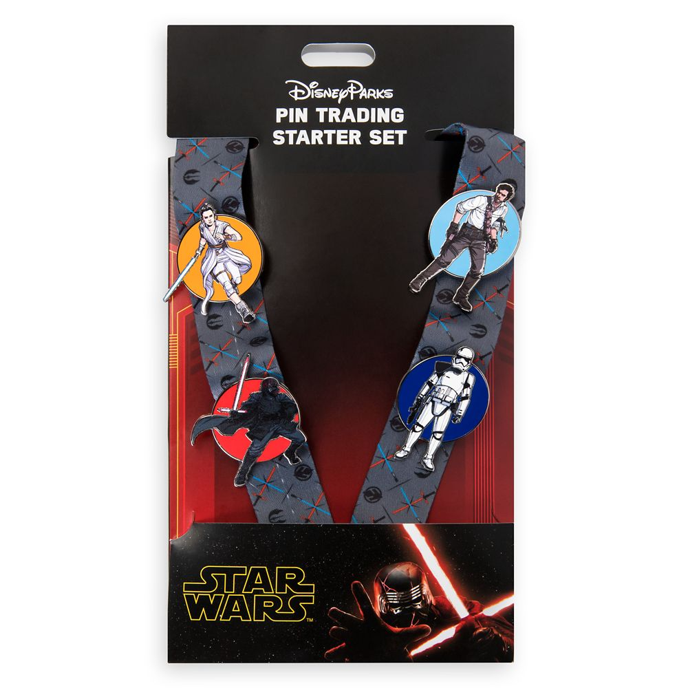 Star Wars: The Rise of Skywalker Pin Trading Starter Set – Disney Parks 2020