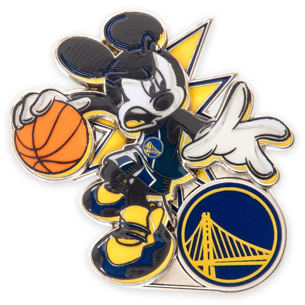Mickey Mouse NBA Experience Pin – Golden State Warriors