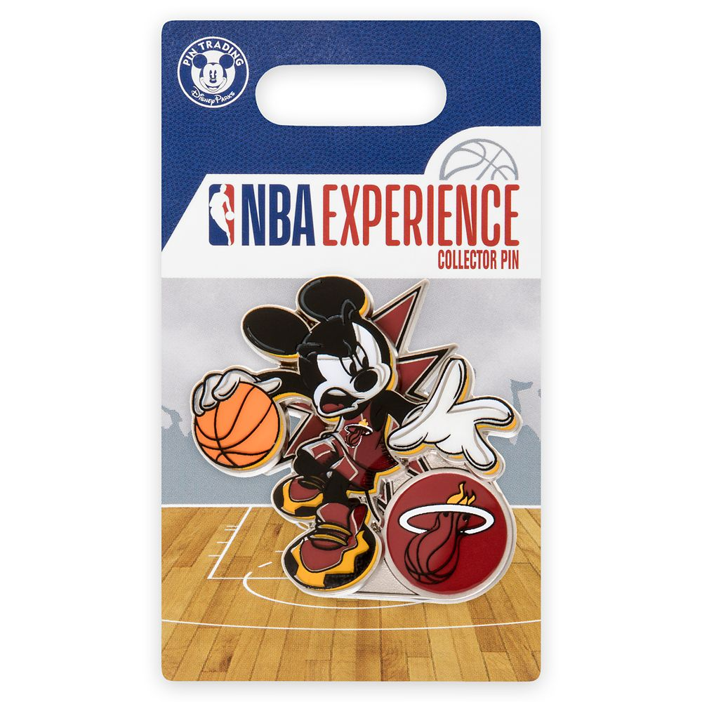 Mickey Mouse NBA Experience Pin – Miami Heat