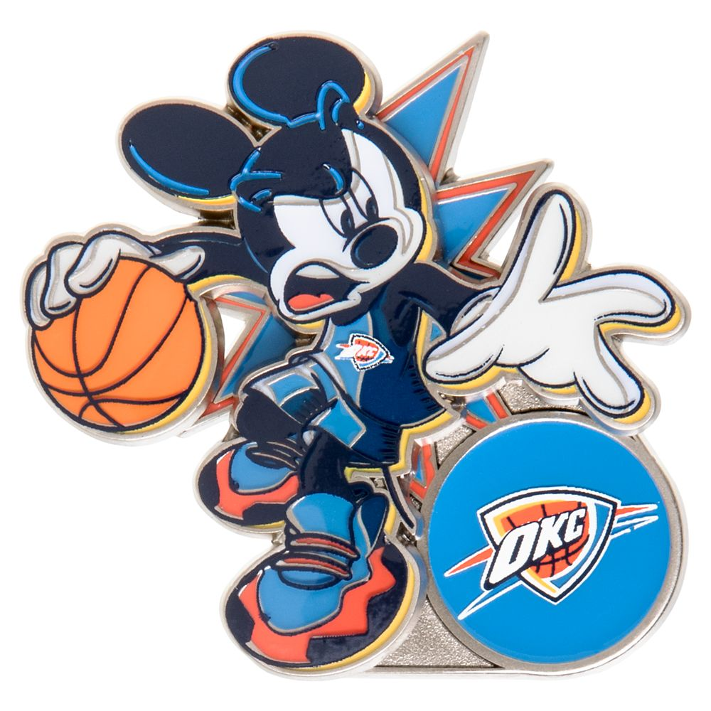 Mickey Mouse NBA Experience Pin – Oklahoma City Thunder
