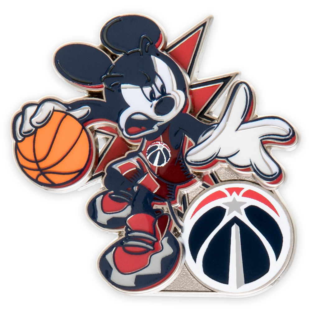 Mickey Mouse NBA Experience Pin – Washington Wizards