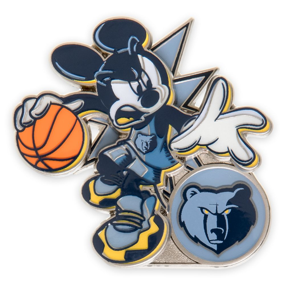 Mickey Mouse NBA Experience Pin – Memphis Grizzlies