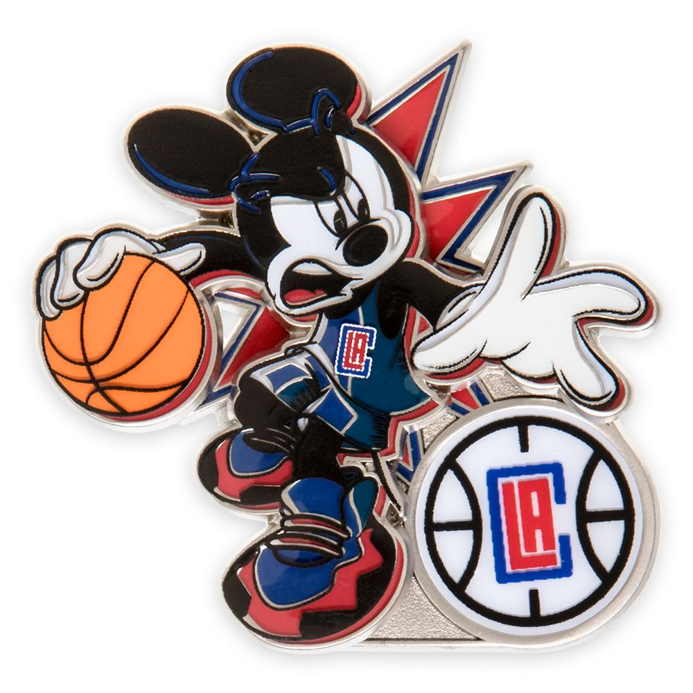 Mickey Mouse NBA Experience Pin – LA Clippers