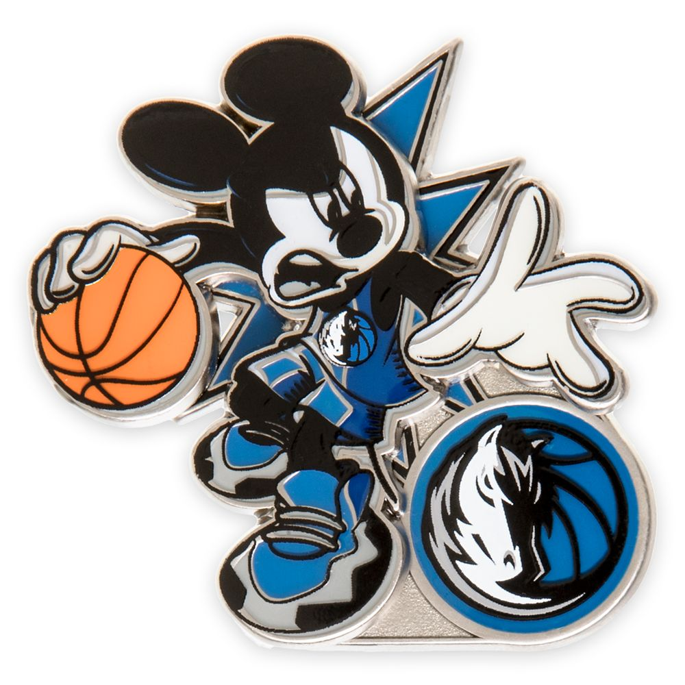 Mickey Mouse NBA Experience Pin – Dallas Mavericks