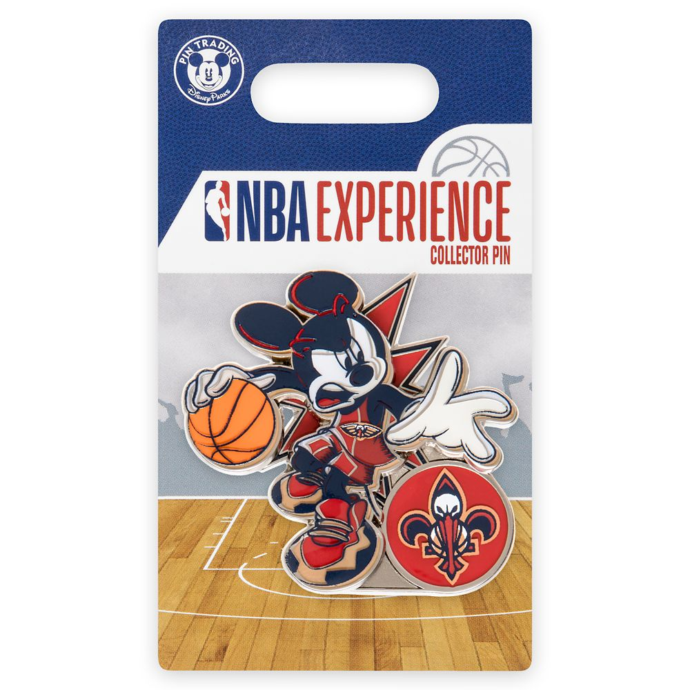 Mickey Mouse NBA Experience Pin – New Orleans Pelicans