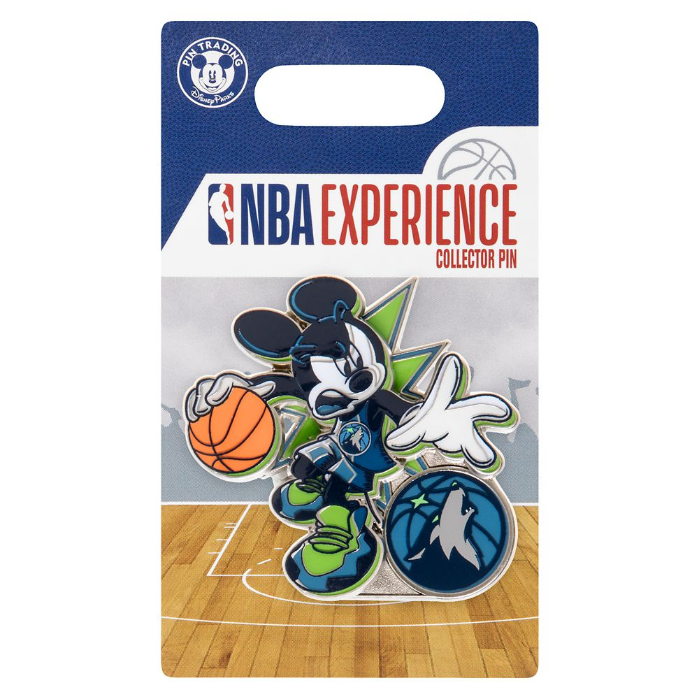 Mickey Mouse NBA Experience Pin – Minnesota Timberwolves