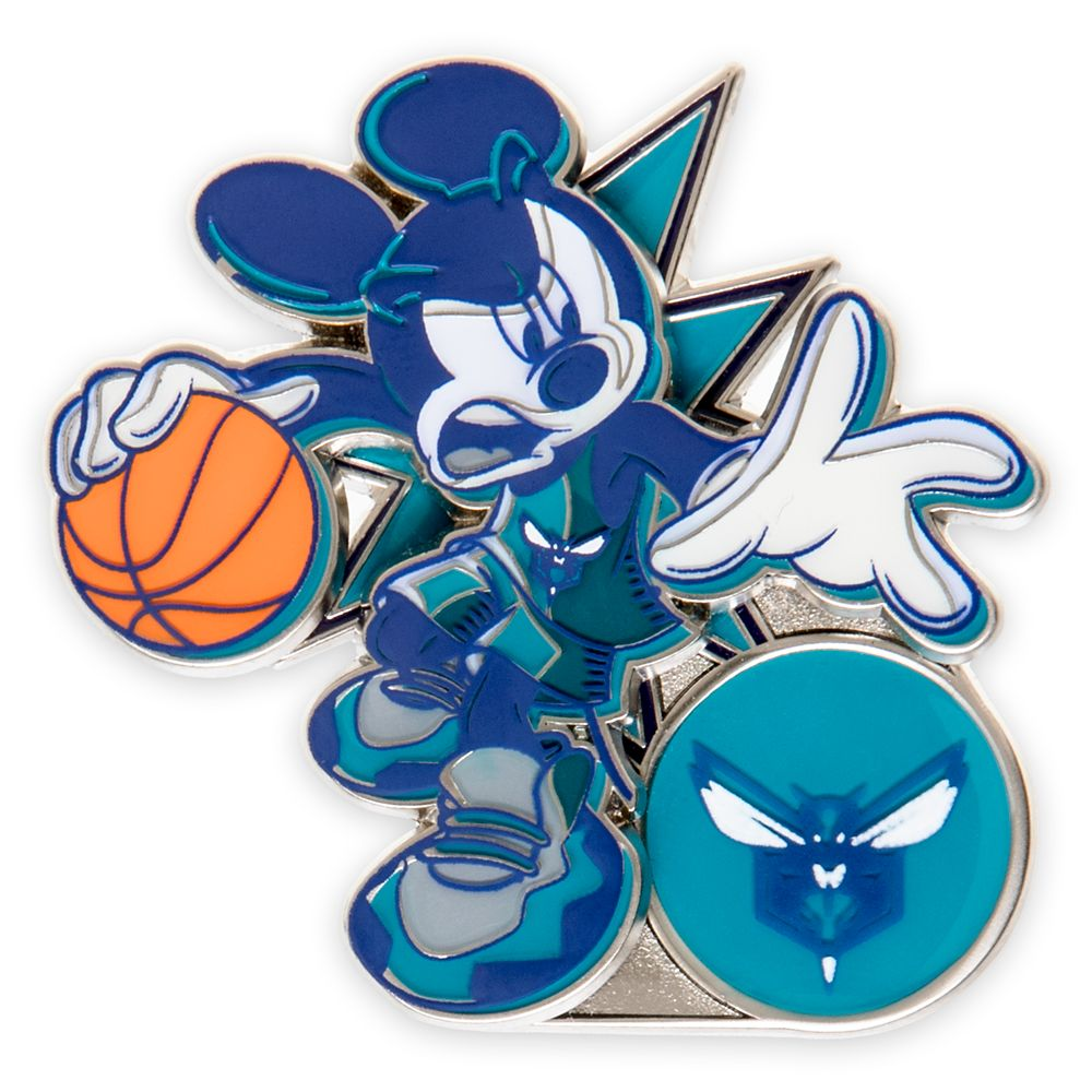 Mickey Mouse NBA Experience Pin – Charlotte Hornets