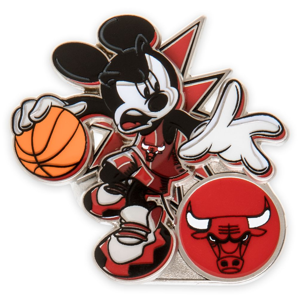 Mickey Mouse NBA Experience Pin – Chicago Bulls