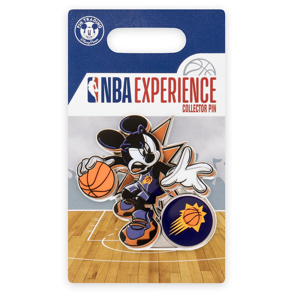 Mickey Mouse NBA Experience Pin – Phoenix Suns