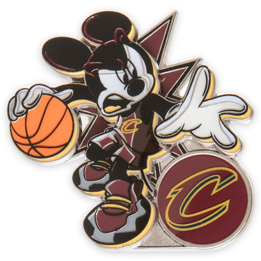 Mickey Mouse NBA Experience Pin – Cleveland Cavaliers