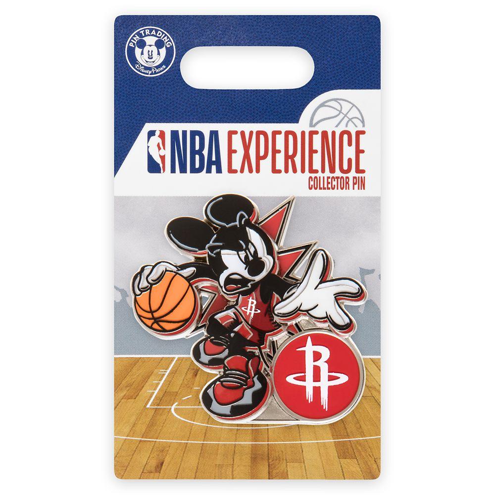 Mickey Mouse NBA Experience Pin – Houston Rockets