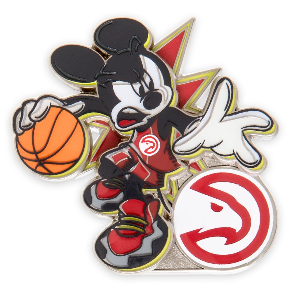 Mickey Mouse NBA Experience Pin – Atlanta Hawks