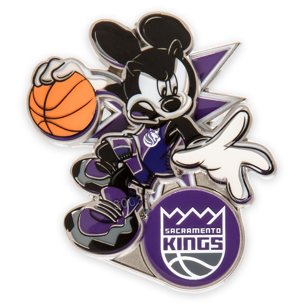 Mickey Mouse NBA Experience Pin – Sacramento Kings