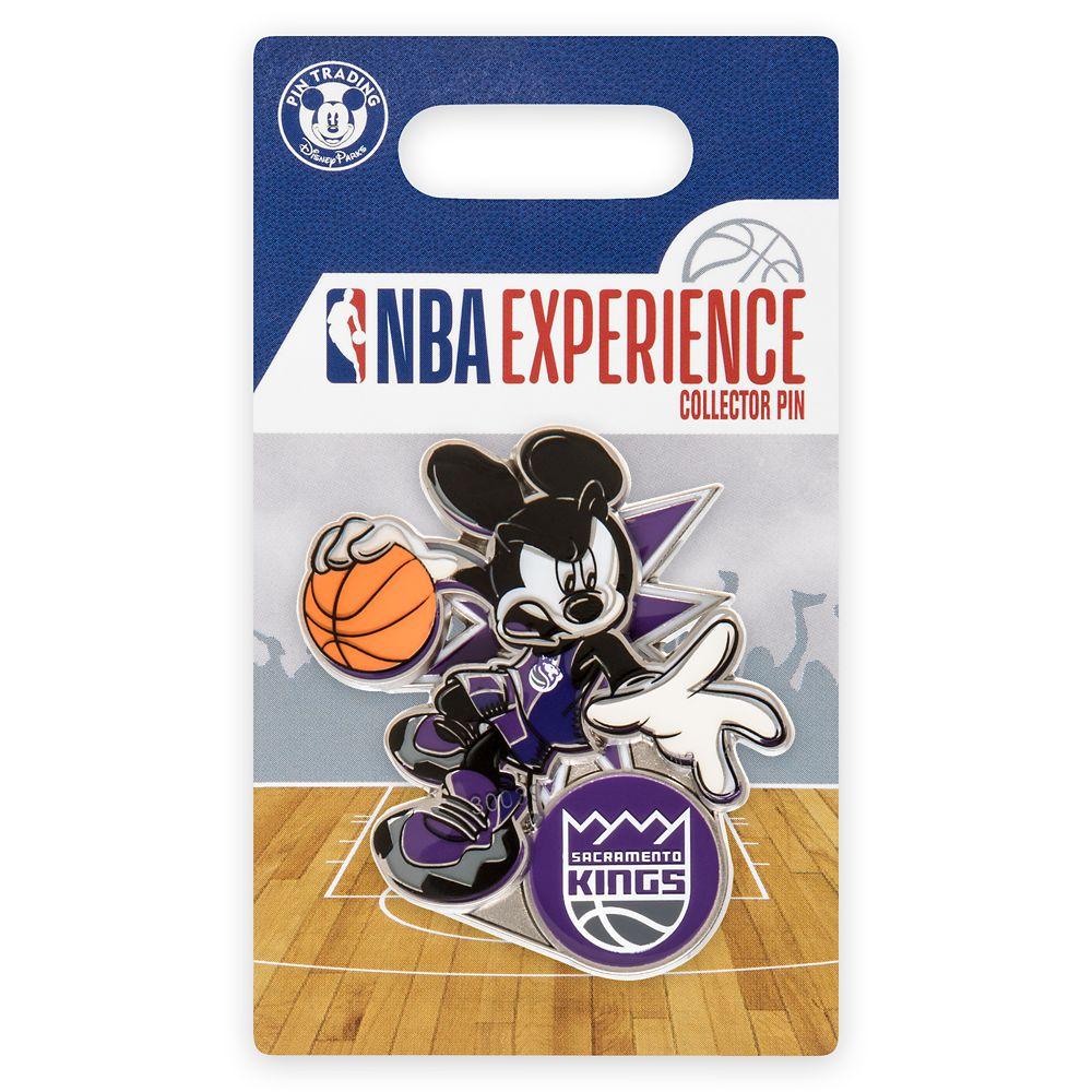 Mickey Mouse NBA Experience Pin – Sacramento Kings