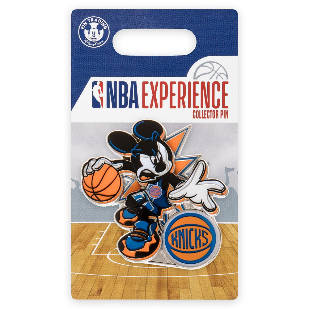 Mickey Mouse NBA Experience Pin – New York Knicks
