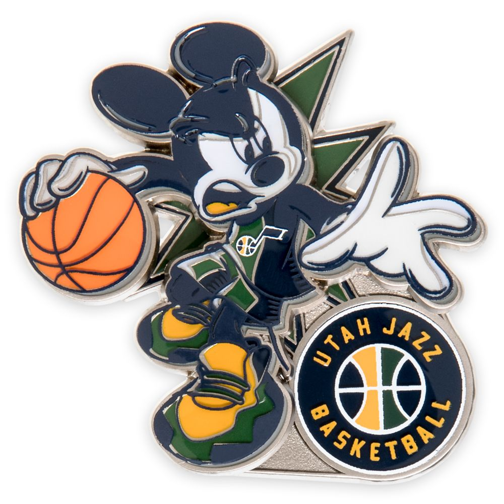 Mickey Mouse NBA Experience Pin – Utah Jazz