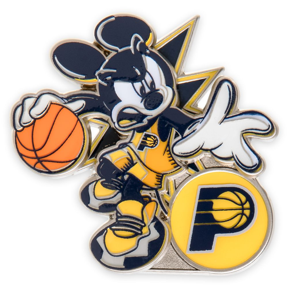 Mickey Mouse NBA Experience Pin – Indiana Pacers