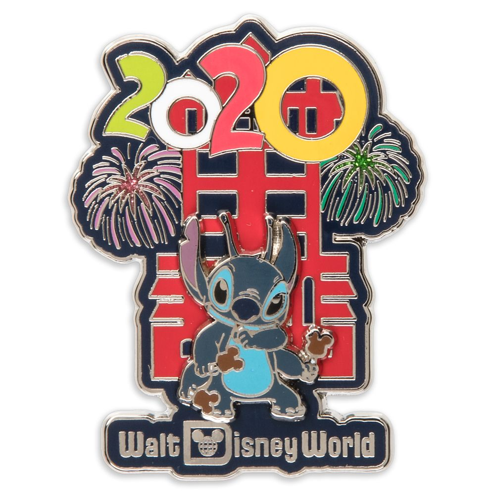 Stitch at Hollywood Tower Hotel Pin – Walt Disney World 2020