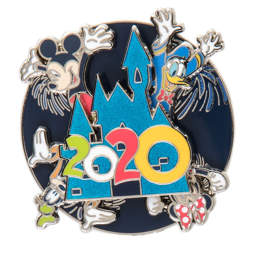 Mickey Mouse and Friends Spinner Pin – Disney Parks 2020