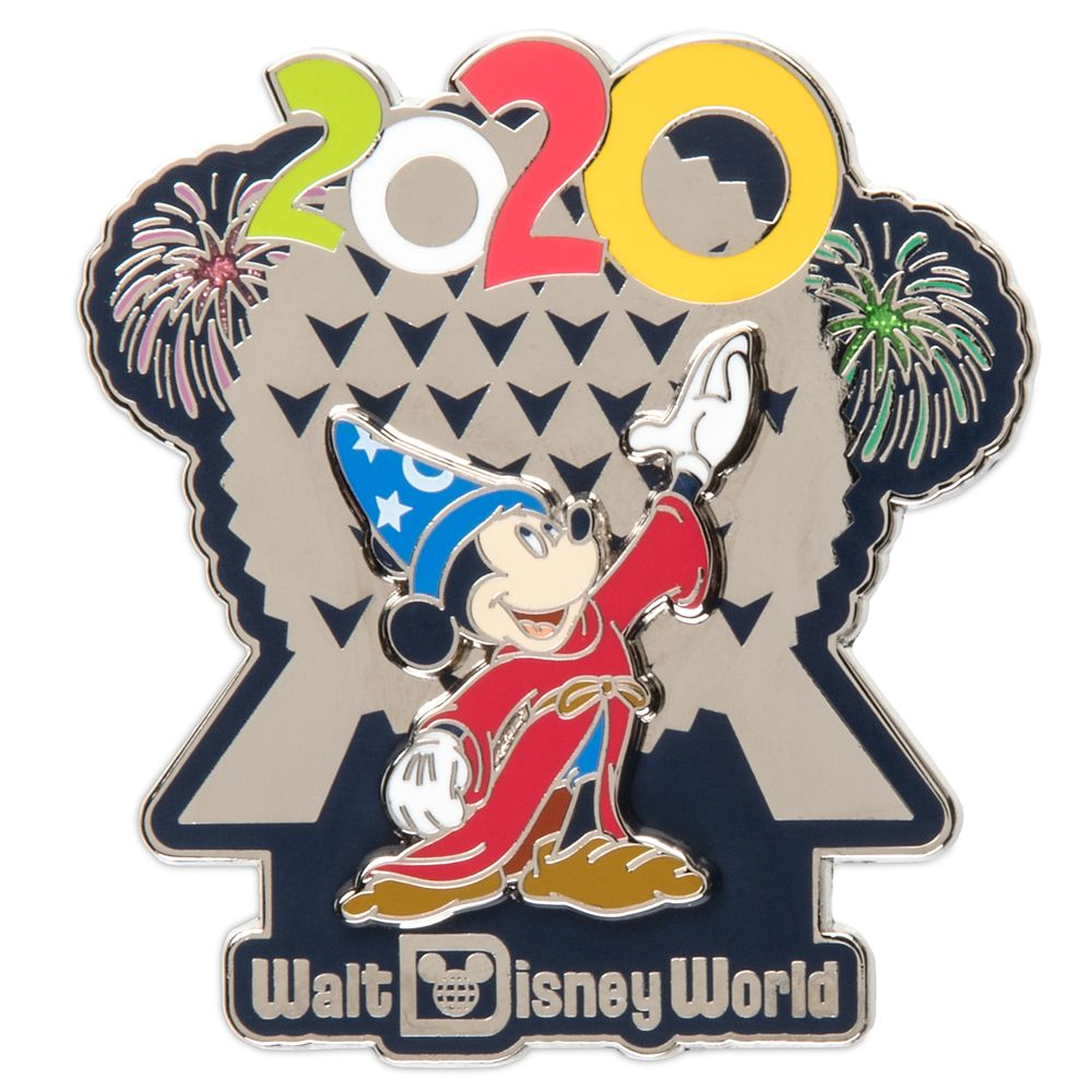 Sorcerer Mickey Mouse at Spaceship Earth Pin – Walt Disney World 2020
