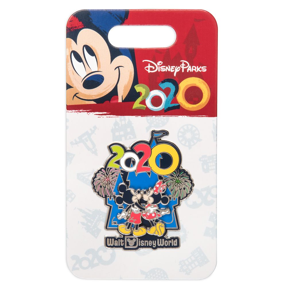 Mickey and Minnie Mouse at Cinderella Castle Pin – Walt Disney World 2020