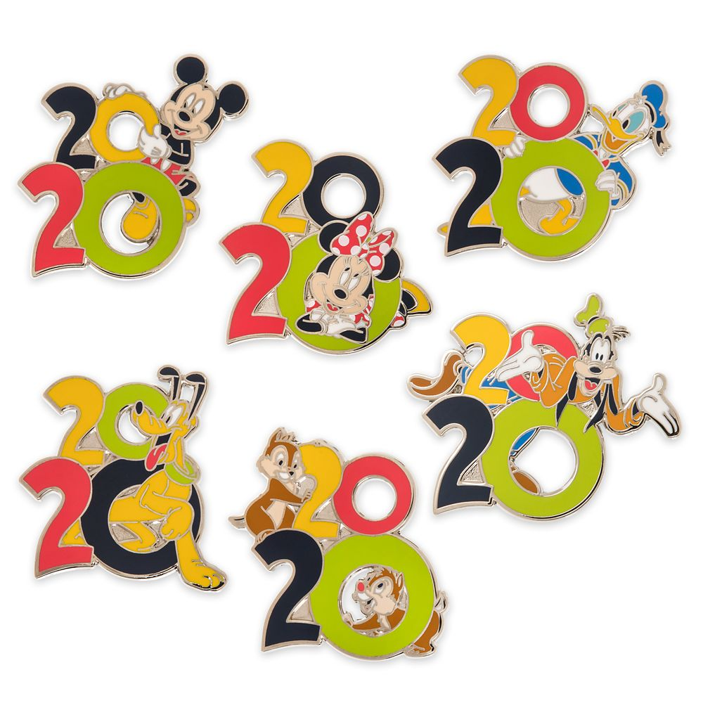 Mickey Mouse and Friends Pin Trading Booster Set – Disney Parks 2020