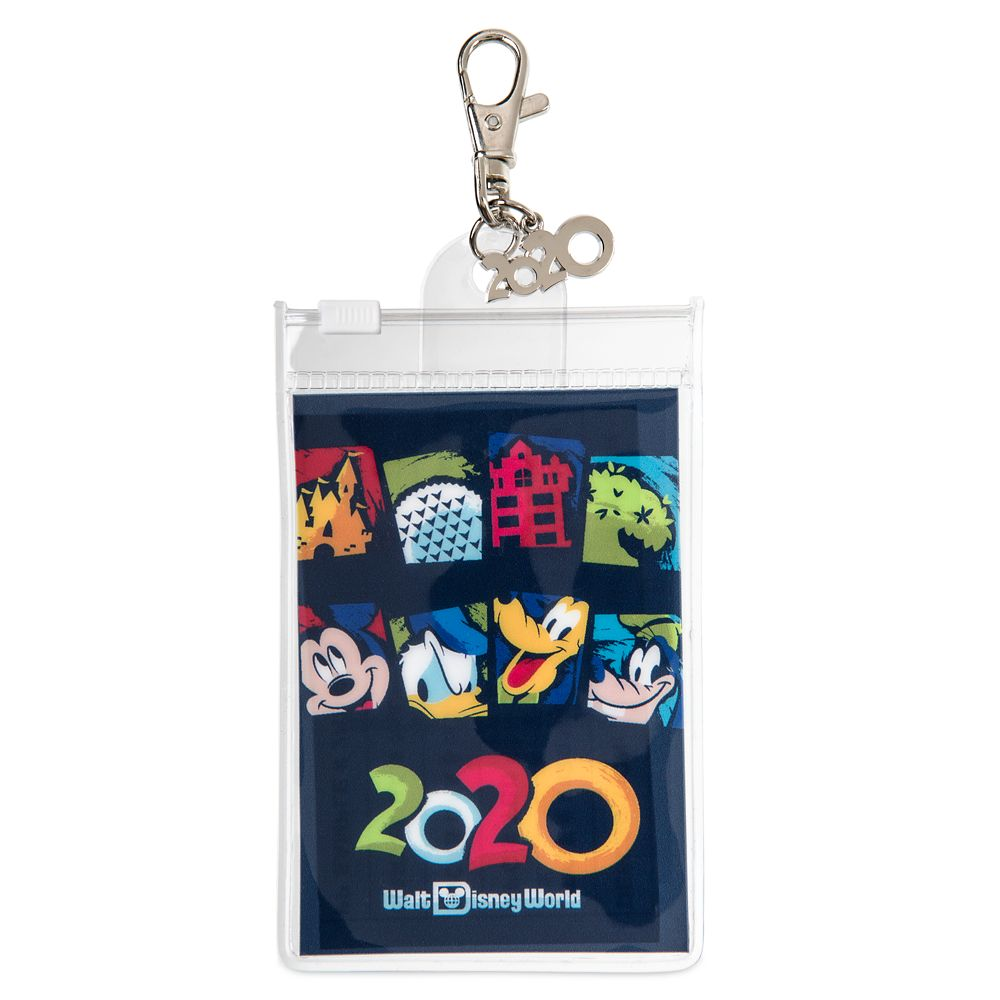 Mickey Mouse and Friends Pin Lanyard Pouch – Walt Disney World 2020