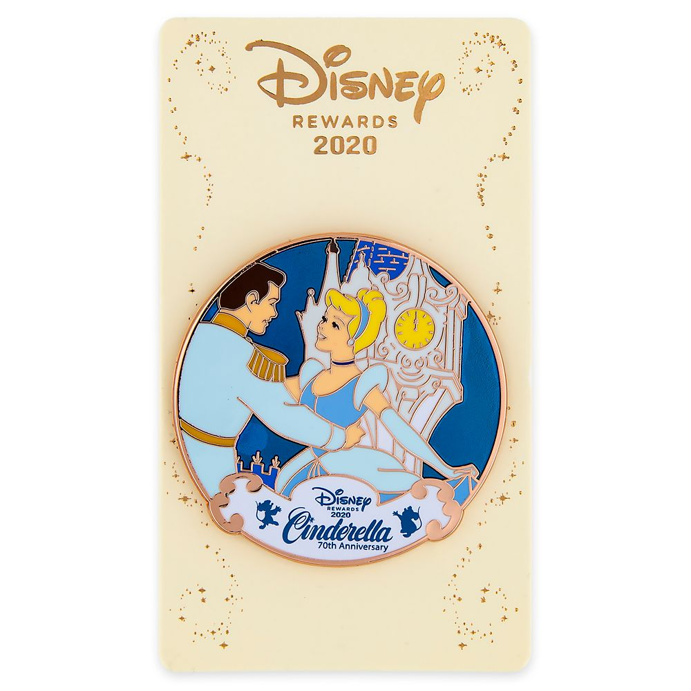Cinderella 70th Anniversary – Disney Rewards Cardmember Pin 2020