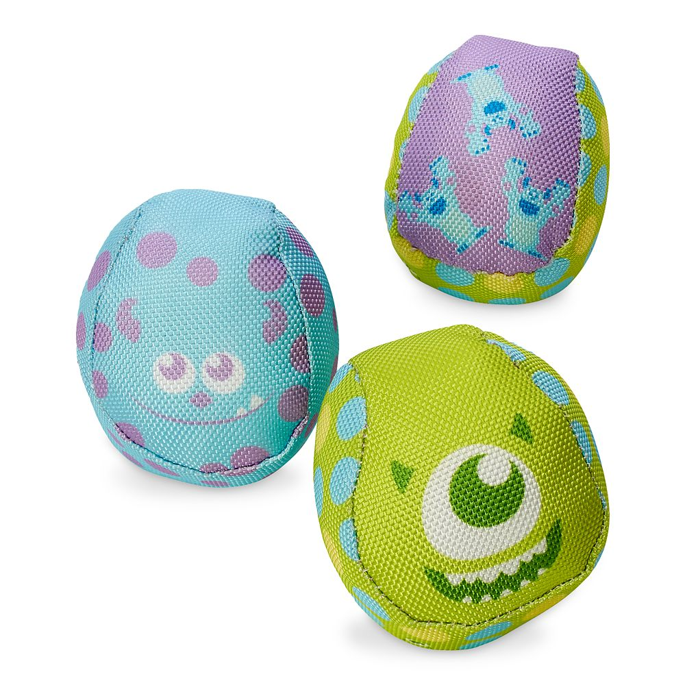 Monsters, Inc. Squeaky Chew-Toy Set for Dogs