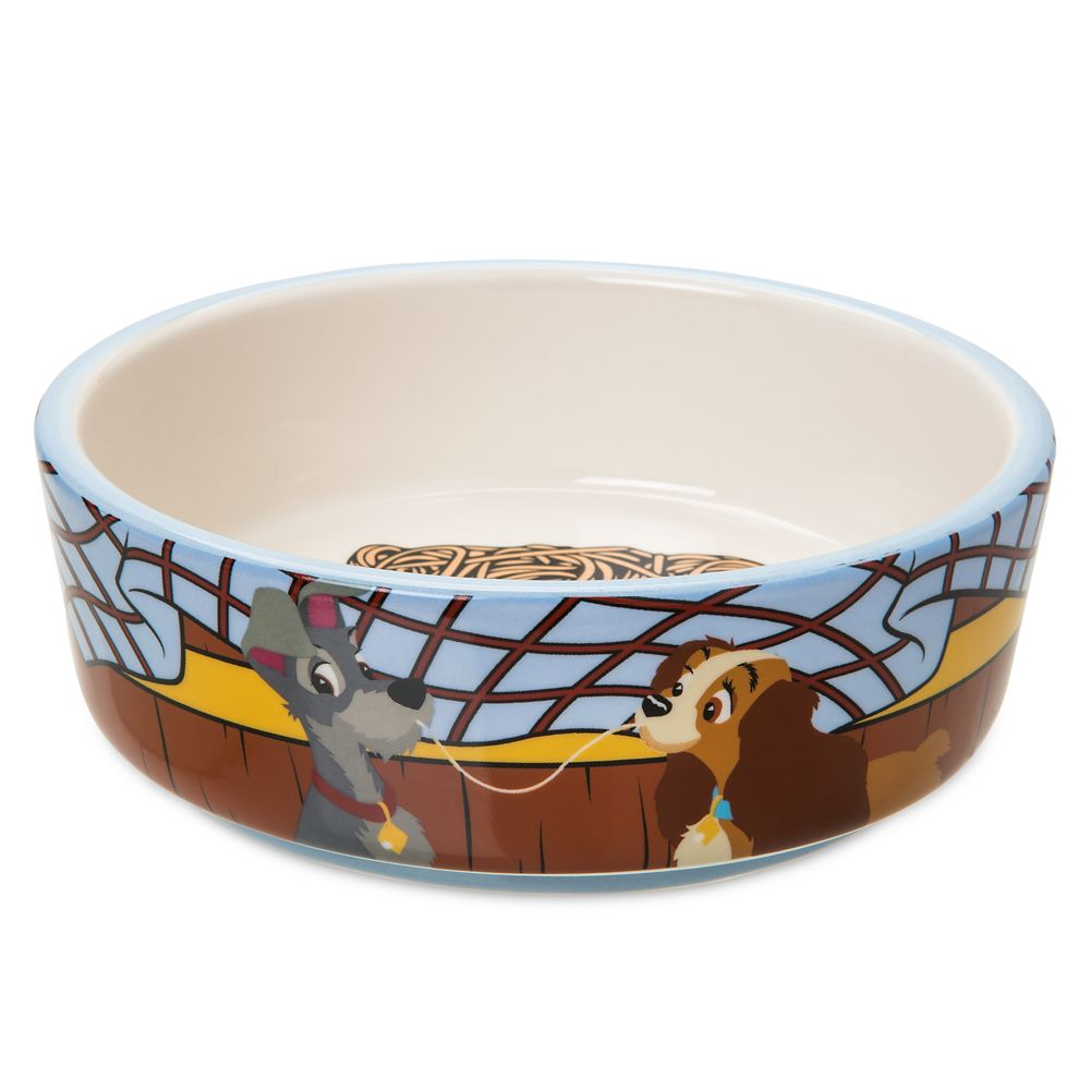 Lady and the Tramp Pet Food Bowl