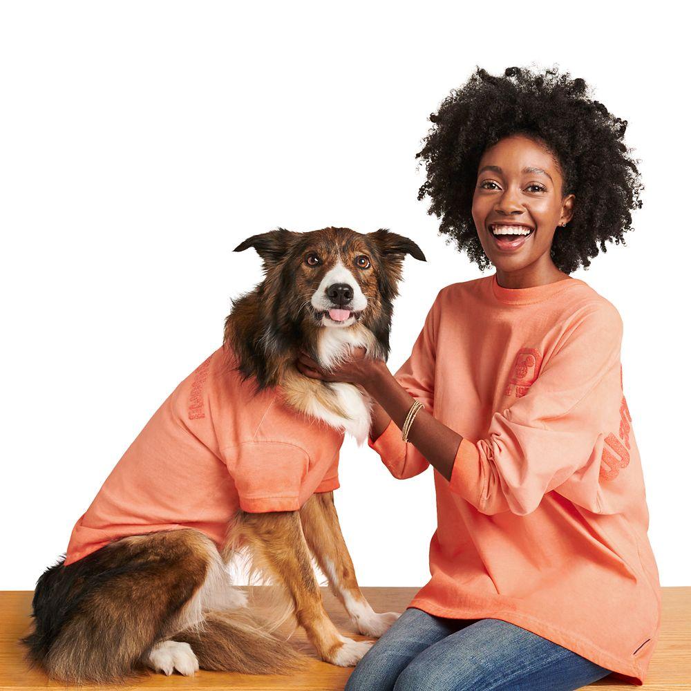 Walt Disney World Spirit Jersey for Dogs – Coral