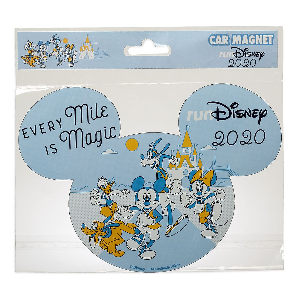 Mickey Mouse and Friends runDisney 2020 Magnet