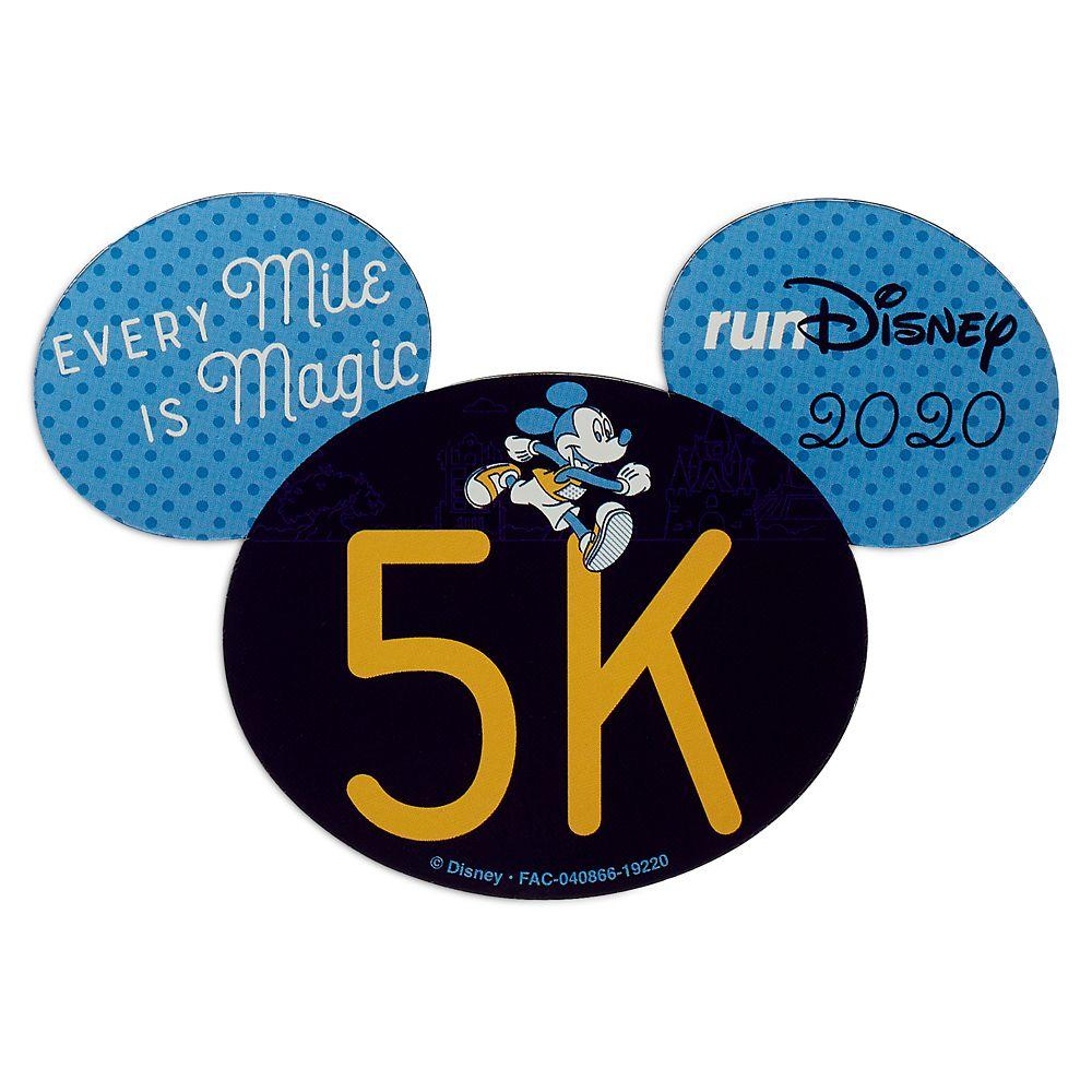 Mickey runDisney 2020 Magnet – 5K