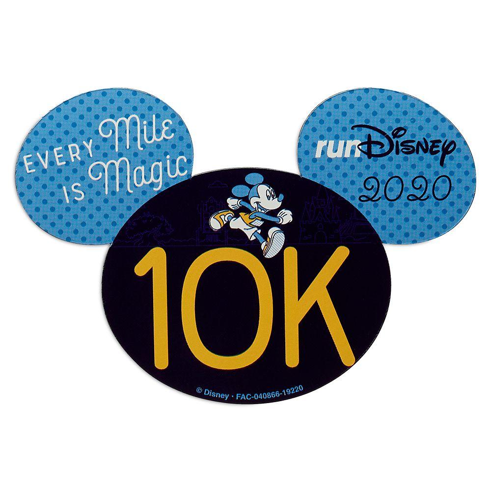 Mickey runDisney 2020 Magnet – 10K
