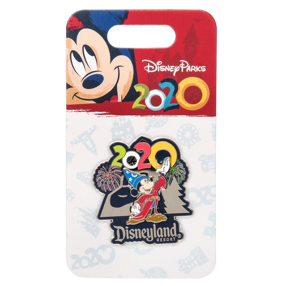 Sorcerer Mickey Mouse at Matterhorn Bobsleds Pin – Disneyland 2020