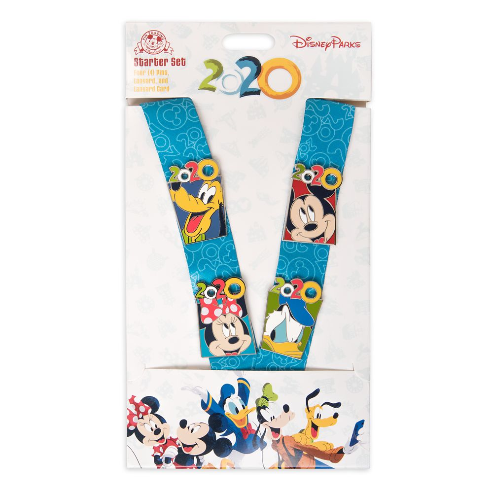 Mickey Mouse and Friends Pin Trading Starter Set – Disney Parks 2020