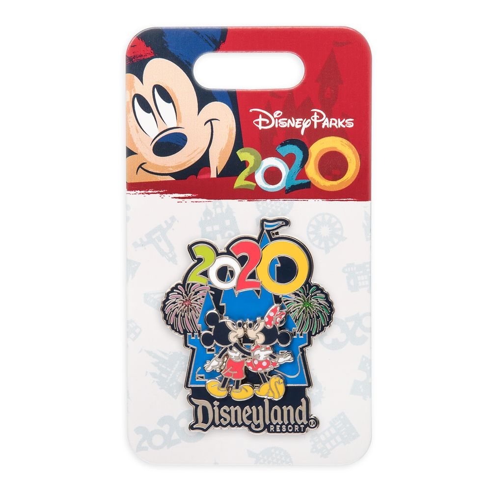 Mickey and Minnie Mouse at Sleeping Beauty Castle Pin – Disneyland 2020