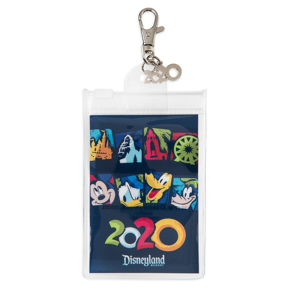 Mickey Mouse and Friends Pin Lanyard Pouch – Disneyland 2020