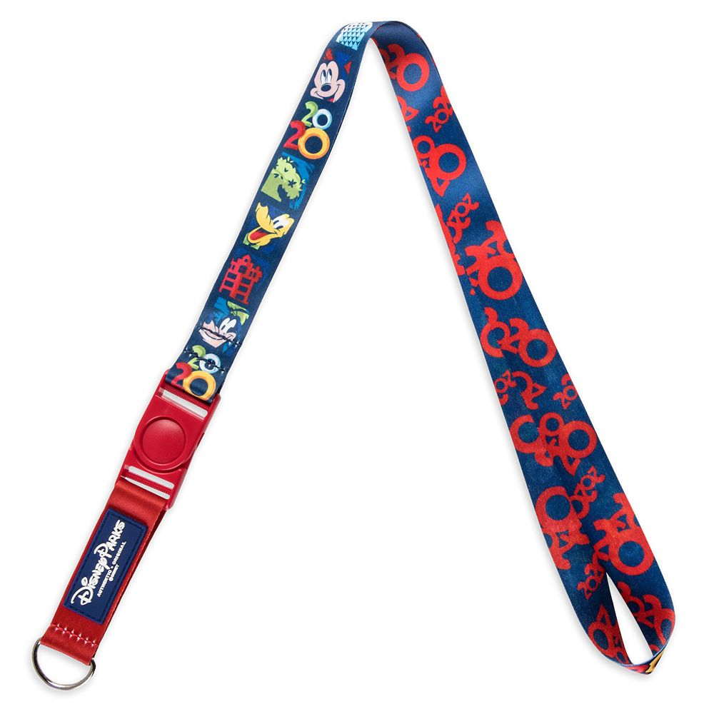 Mickey Mouse and Friends Pin Lanyard – Walt Disney World 2020