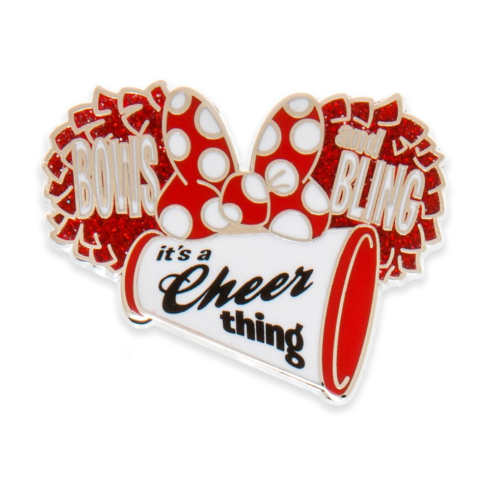 Minnie Mouse Cheerleader Pin