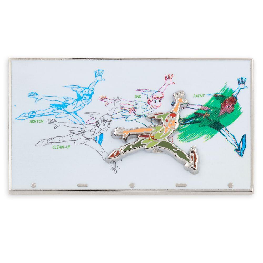 Peter Pan Pin – Ink & Paint